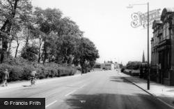 Newton-Le-Willows, Crow Lane East c.1960