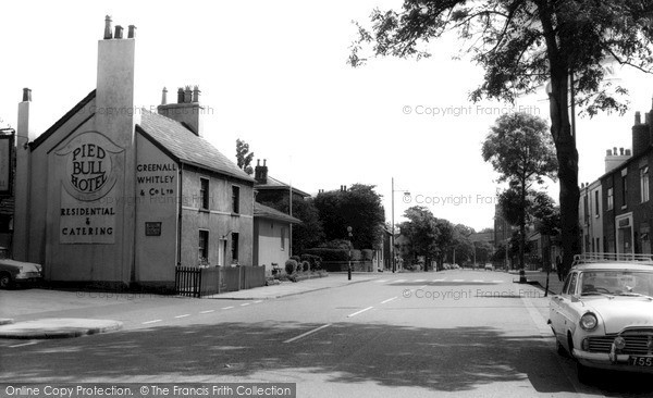 Newton Le Willows, High Street c1960