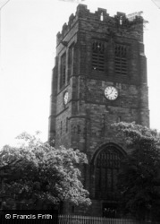 Newton-Le-Willows, St Peter's Church c.1955