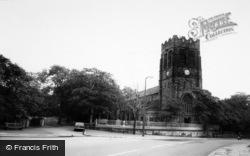 Newton-Le-Willows, The Church c.1965