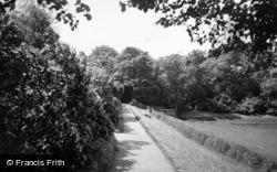 Newton-Le-Willows, Willows Park c.1955