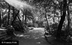 Newton-Le-Willows, Willows Park Entrance c.1955