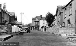 Newton, Newton Road c.1955