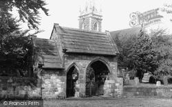 Newton On Ouse, All Saints Church c.1955