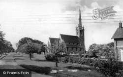 Newton On Ouse, All Saints Church c.1960 , Newton-on-Ouse