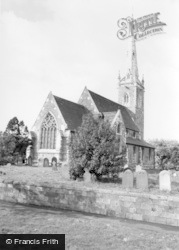 Newton On Ouse, All Saints Church c.1960