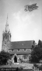 Newton On Ouse, The Church c.1955