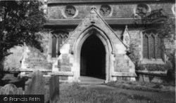 Newton On Ouse, The Church Doorway c.1955