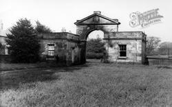 Newton On Ouse, The Park Gates c.1955