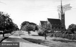 Newton On Ouse, The Village And Church c.1960