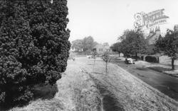 Newton On Ouse, Village Green c.1955, Newton-on-Ouse