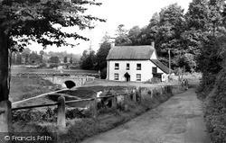 Newton Poppleford, Bridgend c.1955