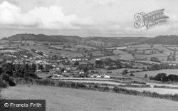 Newton Poppleford, Countryside c.1955