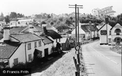 Newton Poppleford, Entrance To Village c.1965
