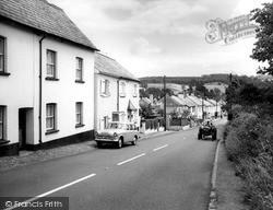 Newton Poppleford, Main Street c.1965