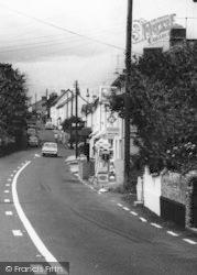 Newton Poppleford, Petrol Filling Station c.1965