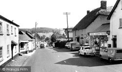 Newton Poppleford, Post Office And Village c.1960
