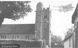 Newton Poppleford, The Church c.1955
