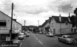 Newton Poppleford, The Main Street c.1965