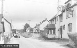 Newton Poppleford, The Village c.1955