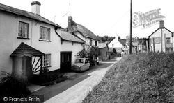 Newton Poppleford, The Village c.1965