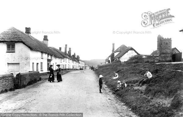 Photo of Newton Poppleford, Village 1906, ref. 53835