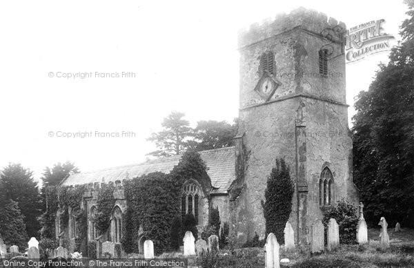 Newton St Cyres, the Church 1904