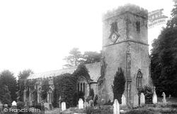 Church Of St Cyr And Julitta 1904, Newton St Cyres