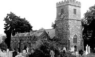 Newton St Cyres, Parish Church c1955