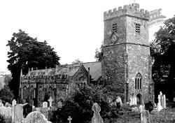 Church Of St Cyr And St Julitta c.1955, Newton St Cyres