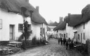 Newton St Cyres, the Village 1904