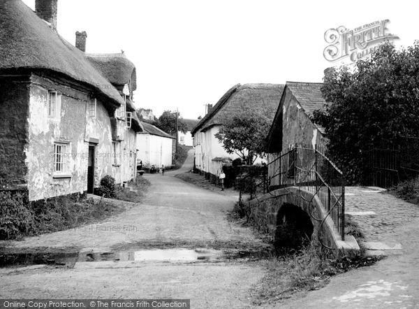 Newton St Cyres, the Village c1955