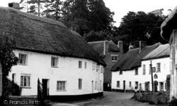 The Village c.1955, Newton St Cyres