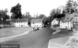The Village c.1960, Newton St Cyres