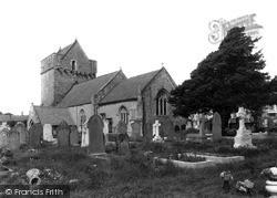 Newton, The Parish Church c.1950