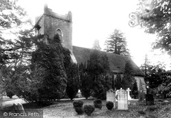 Newton Valence, St Mary's Church 1907