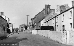 Newton, Village Road c.1955