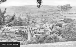 Newtown, From Bryn Bank c.1950