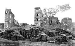 Bradgate Park, The Ruins c.1960, Newtown Linford