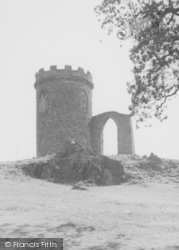 Old John Tower, Bradgate Park c.1960, Newtown Linford