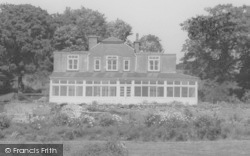 The Johnscliffe Hotel c.1960, Newtown Linford