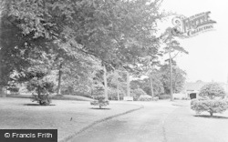Newtown, The Council Grounds Gardens c.1950