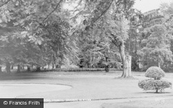 Newtown, The Gardens, Council Grounds c.1950