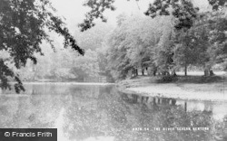 Newtown, The River Severn c.1955