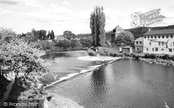 Newtown, The River Severn c.1959
