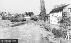 Newtown, The River Severn c.1965