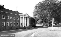 Newtown, Town Hall c.1965