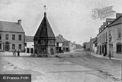 Newtownards, Old Cross And High Street c.1900