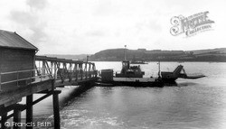 Neyland, The Car Ferry c.1960
