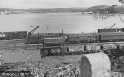 Neyland, The Railway And Pembrook Ferry c.1955